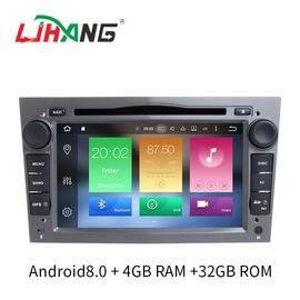 Android 8.0 Vectra Opel Car Radio DVD Player Dengan OBD BT Radio Free Map