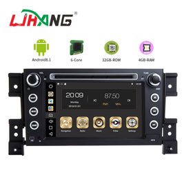 MP3 MP4 USB SD GPS SUZUKI Mobil DVD Player Double Din Head Unit Dukungan TPMS